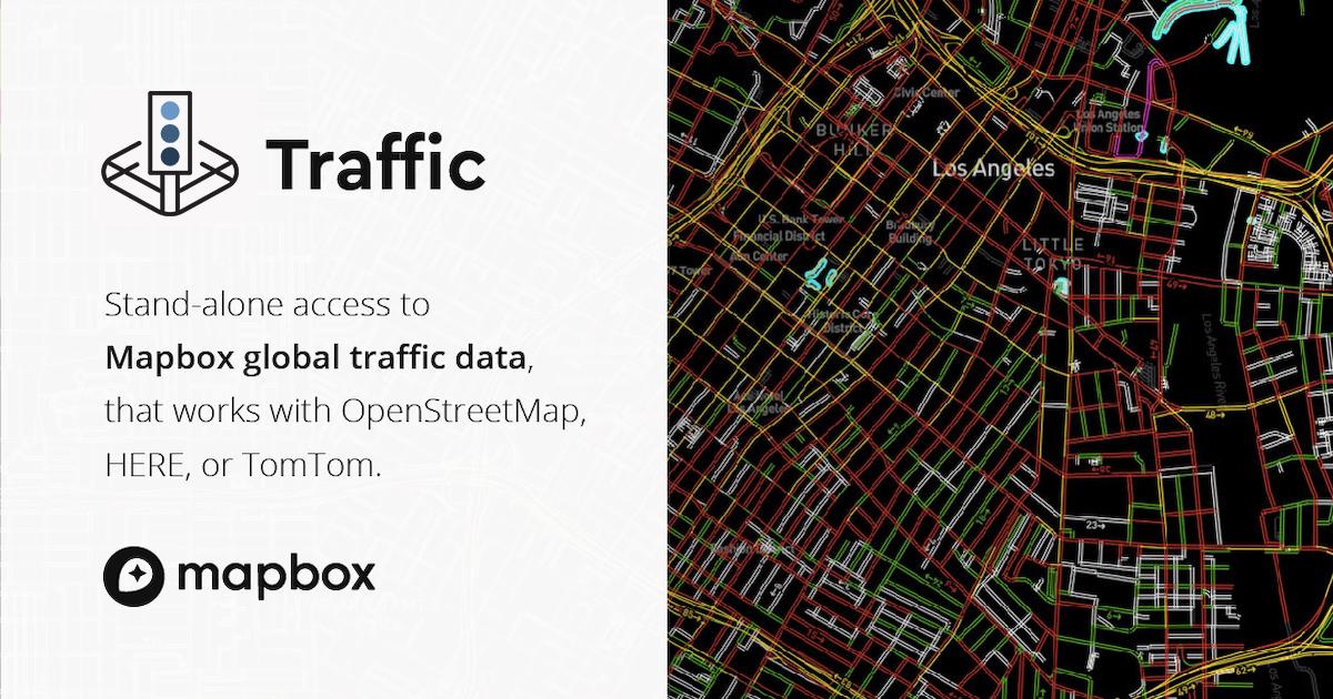 Traffic Data | Mapbox